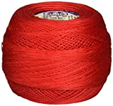 DMC 167GA 30-666 Cebelia Crochet Cotton, 563-Yard, Size 30, Bright Red