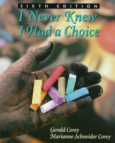 I Never Knew I Had a Choice