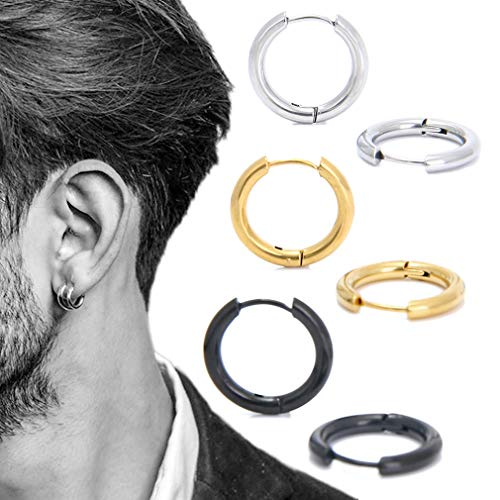 Highest Rated Mens Earrings