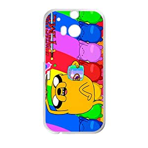 SANYISAN Aadventure time Case Cover For HTC M8 Case