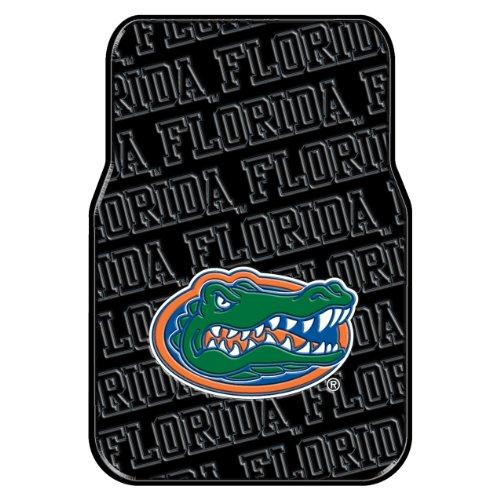 Officially Licensed NCAA Florida Gators Auto Front Floor Mat, (2 Florida Gators Car)