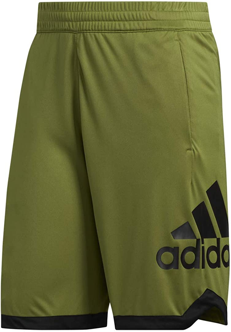 adidas Mens Sport Badge of Sport Basketball Short