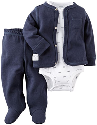 Carters Baby Boys Footed Set