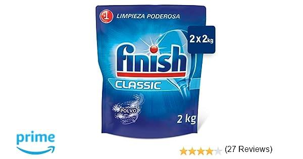 Finish ECO Recarga Lavavajillas Polvo, 2 X 2 kg