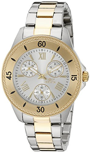 Invicta Women's 21685 Angel Analog Display Quartz Two Tone Watch