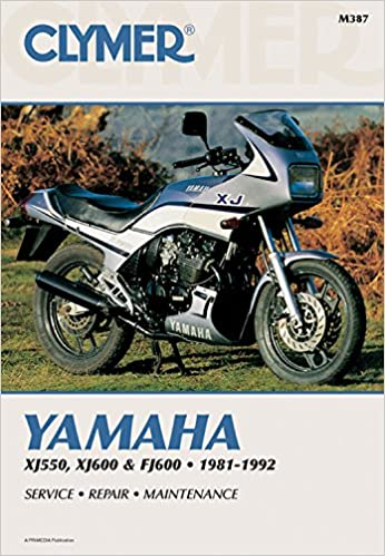 Clymer Yamaha XJ550, XJ600 & FJ600 1981-1992: Service ... on