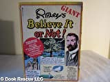 "Ripley's Giant Book of ""Believe It or Not"", Robert L. Ripley, 0446378917"