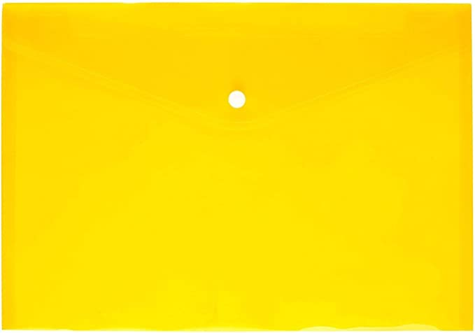 confezione da 24 colori assortiti Besnail portadocumenti A4/in polipropilene