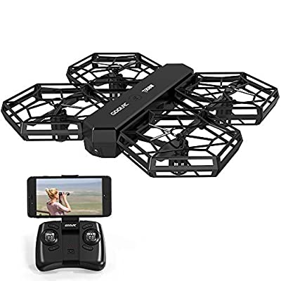 Quadcopter for Beginner - GoolRC T908W Drone WIFI FPV DIY Detachable Drone with Live Video Camera for Adults Kids with Altitude Hold Mode, One Key Take off Landing Drones Easy Fly Steady for Beginner