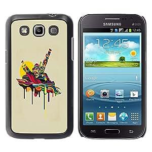 Paccase / SLIM PC / Aliminium Casa Carcasa Funda Case Cover para - Psychedelic Melting - Samsung Galaxy Win I8550 I8552 Grand Quattro