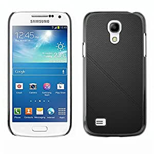 Licase Carcasa protectora - Black leather - Samsung Galaxy S4 Mini