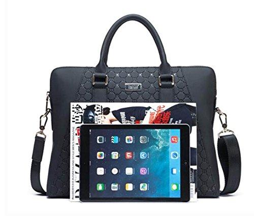 FZHLY Herren Handtaschen Portable Business Official Bag