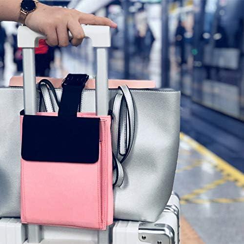 organiseur de bagages Sac de voyage utilitaire Organiseur de voyage portable r/églable Sangle de bagages de voyage /élastique pour attacher nimporte quel sac fourre-tout