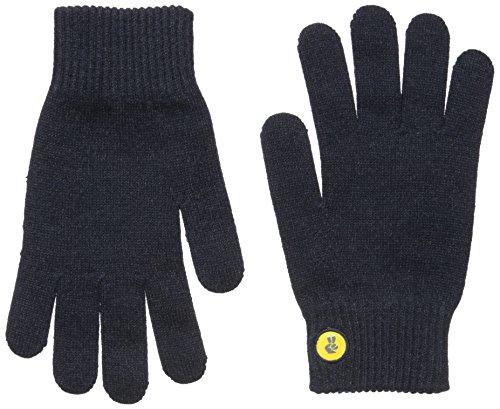 いつもマーカーエールアメリカ glove.lyスマホ グローブ SOLID (L, ブラック)