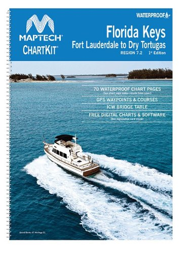 Maptech Waterproof Compact Chart Kit - Florida Keys Florida Keys Chart Book