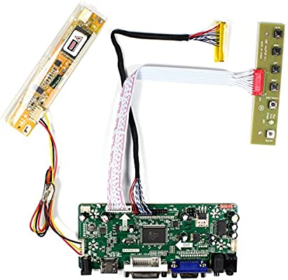VSDISPLAY HDMI VGA DVI Audio LCD Control Board For 15 6
