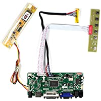 VSDISPLAY HDMI VGA DVI Audio LCD Control Board For 15.6 LP156WH1 LTN156AT01 1366x768 1CCFL 30Pin LCD Panel