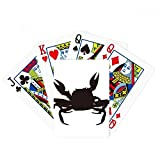 Black Crab Illastrate Marine Organism Poker Playing Card Tabletop Board Game Gift