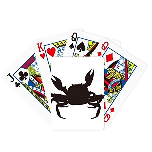Black Crab Illastrate Marine Organism Poker Playing Card Tabletop Board Game Gift by beatChong