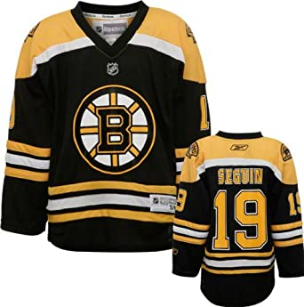 online store d5c8e 799cb Amazon.com: Boston Bruins Tyler Seguin Youth Replica Reebok ...