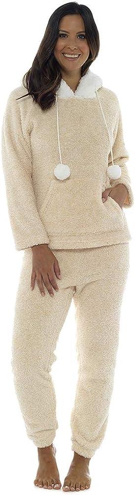 TALLA X-Large (48-50). Socks Uwear - Pijama de una Pieza - Liso - para Mujer