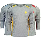 Brainstorm Gear Unisex Star Trek Long-Sleeve Running Shirt