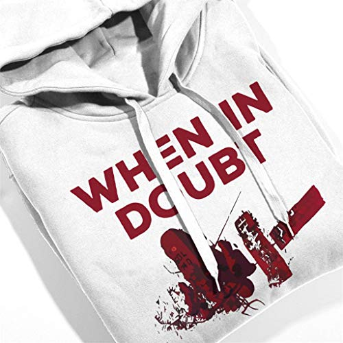 Hooded Hooded in Women's When Sweatshirt Doubt Akira Use Use Use sol White 51YSxqxfwa
