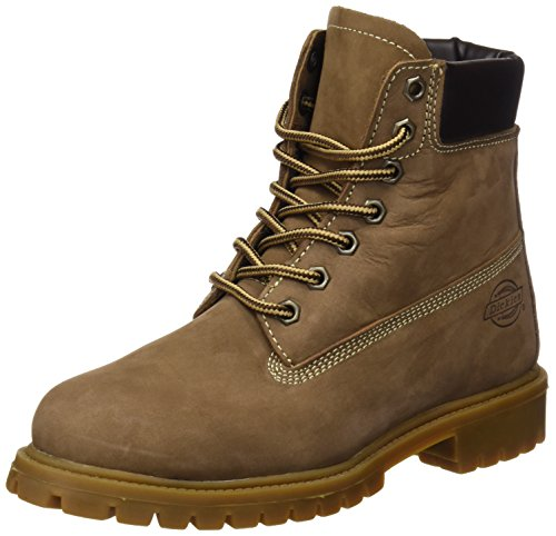 DICKIES, Fort Worth, Botas Hombre, Marrón (NUBUCK BROWN), 39 EU