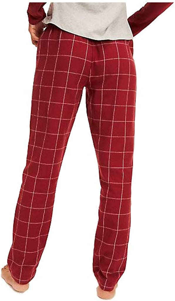 Tommy Hilfiger Flannel Pant Check Tanga Femme