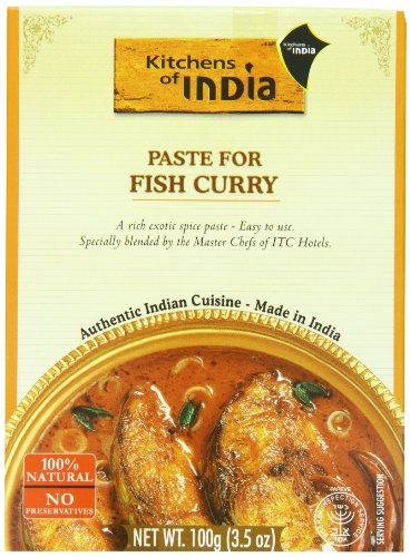 Kitchens Of India Curry Paste for Fish Curry, 3.5 Ounce