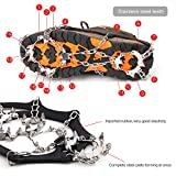 Vdealen Crampons for Hiking, 19 Teeth Stainless Steel...