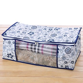 Domire Quilt Blanket Pillow Under Bed Storage Bag Box Container Non Woven  Fabric Size: