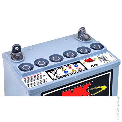 MK Powered Batterie plomb etanche gel MK MU-1 SLD G 12V 31Ah
