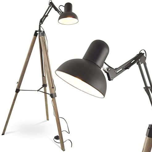 MOJO® Stehleuchte Tripod Stehlampe Urban Industrial Design Lampe ...