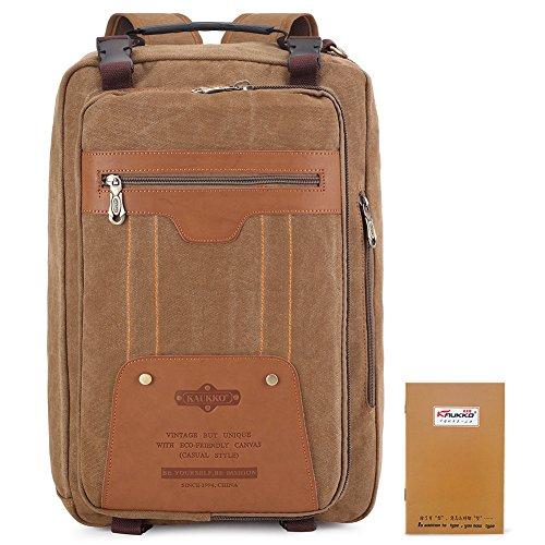 KAUKKO Casual Backpack/Handbag/Messenger Bags Fits up to 13-15