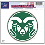 Wincraft NCAA Colorado State Multi-Use Colored Decal, 5'' x 6''