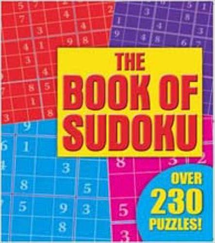Book Sudoku (Pretty Puzzles)
