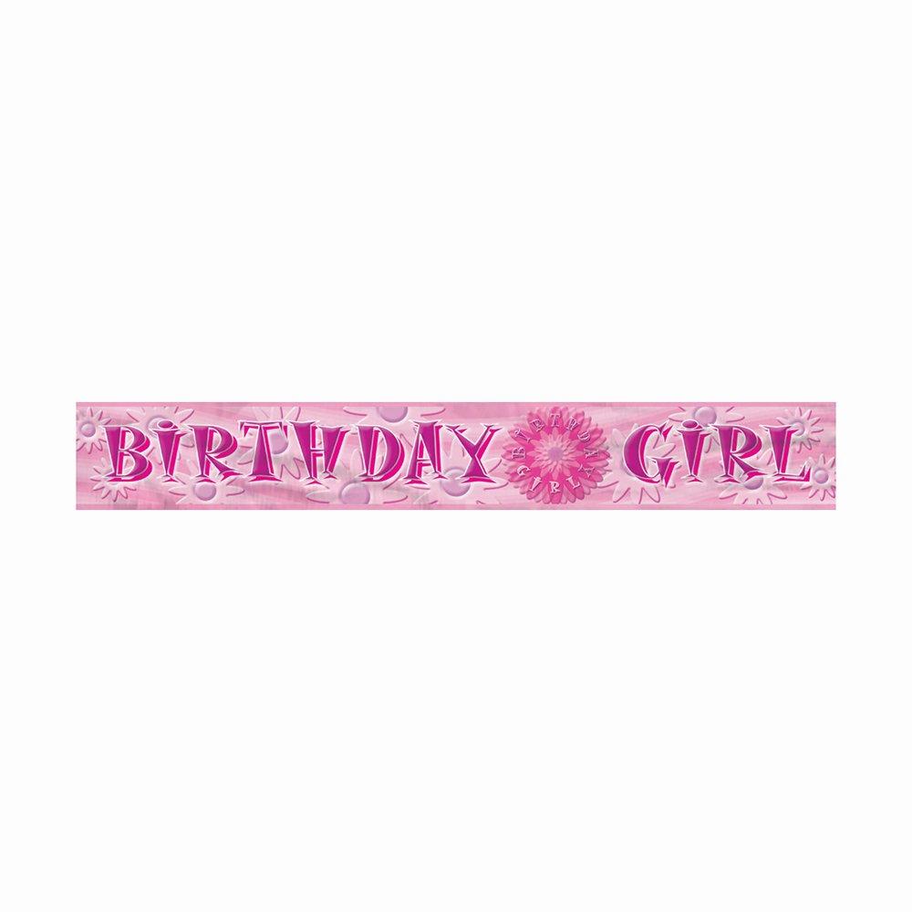 Birthday Girl Foil Banner 3.7m   B0056HHIRU