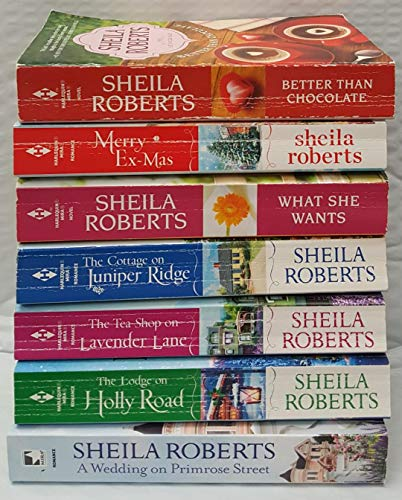 Life in Icicle Falls Series Books 1-7 – Better Than Chocolate, Merry  Ex-Mas, What She Wants, The Cottage on Juniper Ridge, The Tea Shop on  Lavender