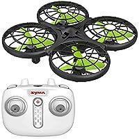 Syma X26 Remote Control Drone for Kids, Hover & Headless Mode Quadcopter, Black/Green
