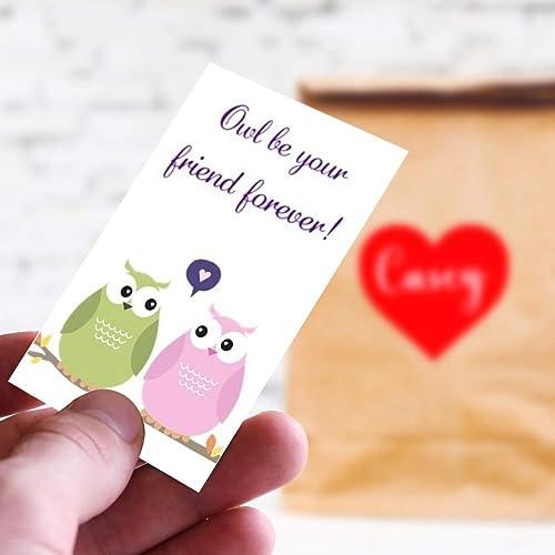 abf888068573bd Amazon.com  Owl Valentine Cards