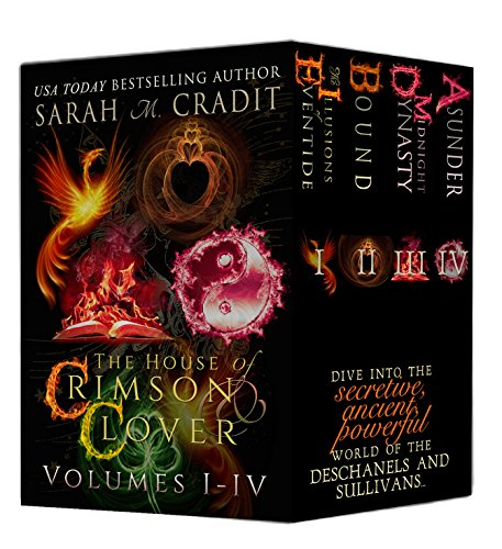 The House Of Crimson & Clover Box Set Volumes I-IV: A House of Crimson & Clover Boxed Set cover