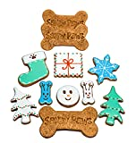Sandy Paws Gourmet Dog Treats Holiday Theme Organic Dog Cookies For Sale