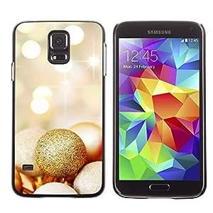 YOYO Slim PC / Aluminium Case Cover Armor Shell Portection //Christmas Holiday Decorations 1132 //Samsung Galaxy S5