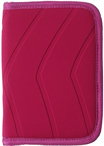 Wrap Around Zipper (ORB Family Travel Document Passport Wallet Organizer has 4 Compartment for up to 4 Passports RFID Wallet Prevent Identity Theft. Two Compartments for Credit Cards. Wrap Around Zipper WP600-H Pink)