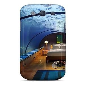 New Premium Flip Case Cover Underwater Bed Skin Case For Galaxy S3