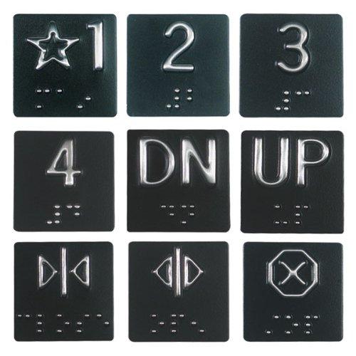 Braille Elevator Plates