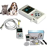 Wang Vet Veterinary Pulse oximeter Handheld SPO2 Pr Monitor Vet Tongue,Ear Probe CMS60D Vet