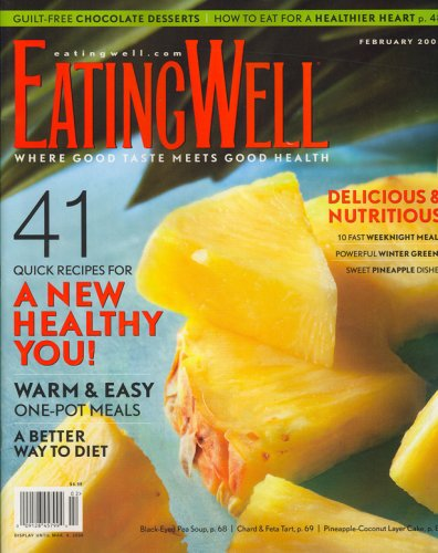 Eating Well, February 2008 Issue