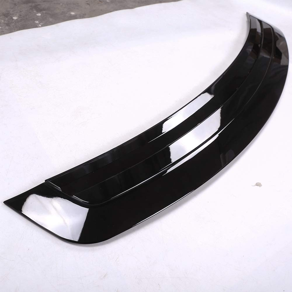 YUECHI for Land Rover Range Rover Vogue LR405 2013-2017 ABS Chrome Gloss Black Hood Panel Cover Trim Model Refitting by YUECHI (Image #3)